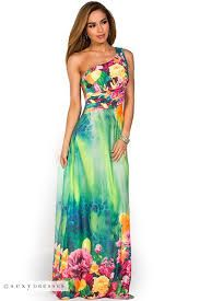 Hawaiian Maxi Dresses