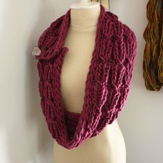 Chaine Cowl / Wrap Knitting Pattern – Phydeaux Designs & Fiber