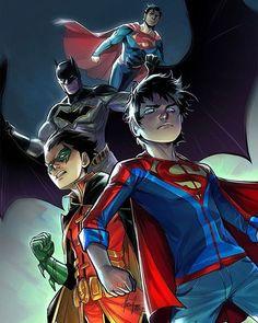 By Mirka Andolfo #SuperSons #DC #DCComics