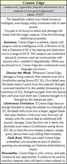 Craven Edge — CritRoleStats