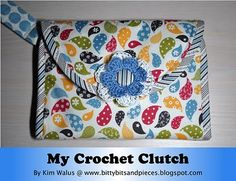 This is the perfect crochet hook organizer!  I really need one, might have to see if I can find someone to make it for me....