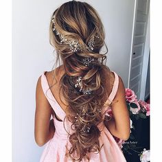 Hair by Ulyana Aster; wedding goalssss