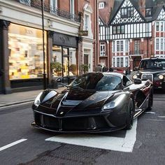Ferrari LaFerrari in downtown London
