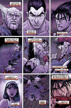 Tekken Issue #2 - Comic Review The second issue of the Blood Feud story-arc of Titan Comics' Tekken series is finally here, continuing the story of Jin, Paul, Ling Xiaoyu, Panda, Anna, King and Yoshimitsu, and their journey to find Artefact 333. http://www.thexboxhub.com/tekken-issue-2-comic-review/