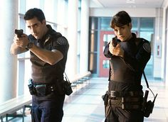 Rookie Blue.  YEY! my favorite fake cops are back!