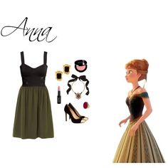 Anna inspired outfit