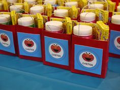 Elmo Birthday Party Favors