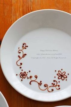 デザートプレート - Google 検索 Plate Drawing, Dessert Platter, Birthday Plate, Dessert Decoration, French Pastries, Plated Desserts, Creative Food, Food Design, Pie Dish