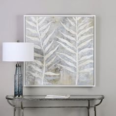 Uttermost Winter White Wall Art | from hayneedle.com