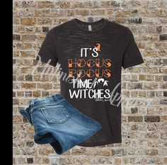 Hey, I found this really awesome Etsy listing at https://www.etsy.com/listing/546655834/its-hocus-pocus-time-witches-hocus-pocus