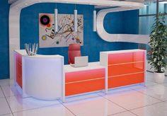 Lada recepcyjna #elzap #meblebiurowe #meble #furniture #poland #warsaw #krakow #katowice #office #design #officedesign #officefurniture #reception #receptiondesk www.elzap.eu www.krzesla.krakow.pl www.meble-metalowe.com