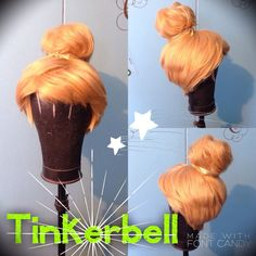 Tinker wig by C80sThingamabobs on Etsy