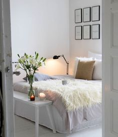 ☼ ☾ Small Room Bedroom, Cozy Bedroom, Bedroom Sets, Home Decor Bedroom, My Room, Living Room Decor, Girls Bedroom, Home Budget, White Rooms