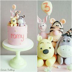 winnie the pooh 3rd birthdaycake  - Cake by Astrids Bakkerij