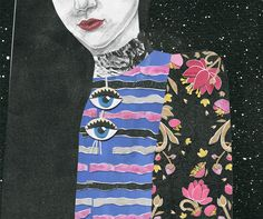 Nancy Liang's Eerie GIFs are Translated into Gorgeous Fashion Illustration