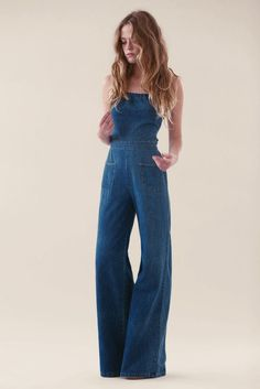 Blue jumpsuit.   SOURCE: Stoned Immaculate VIntage
