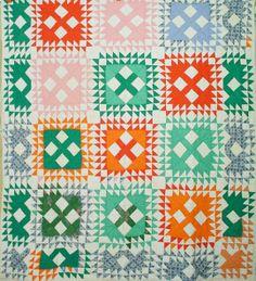 1940-1960, found on Barbara Brackman's Material Culture Blog