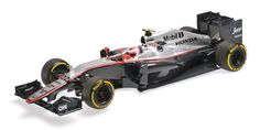 MCLAREN HONDA MP4/30 - JENSON BUTTON - 2015 - AUSTRALIAN GP 2015 - Racing cars - Die-cast | Hobbyland Scale model car made of /resin/ in 1:18 scale manufactured by Minichamps.  It is just a small version of a real car suitable for collectors.  Handmade.  Composition: resin and plastic