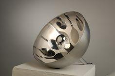 Edelstahl Leuchte / stainless steel lamp  mei mei design