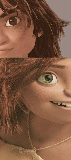 Guy and Eep Dreamworks Movies, Dreamworks Animation, Disney And Dreamworks, Animation Film, Disney Dream, Disney Love, Pixar, Disney Princess Characters, Boys 1st Birthday Party Ideas