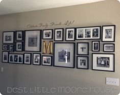 BEST LITTLE MOORE HOUSE- Picture gallery wall!