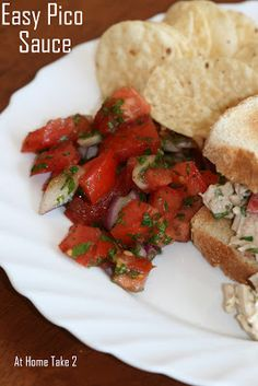 Easy Pico Sauce with