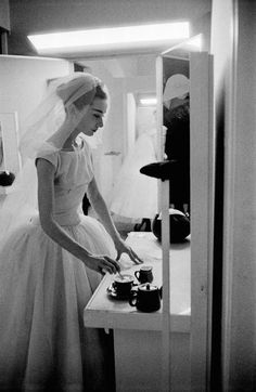 Audrey Hepburn, 1956 by David Seymour