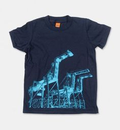 Trucks, planes, cranes! Indulge your little one's obsession with all things mechanical with our Cranes Trio toddler t-shirt.