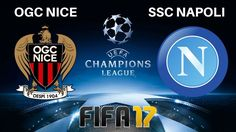 OGC Nice vs SSC Napoli in this Tuesday evening UEFA Champions League Qualification round match. Napoli have a aggregate lead from the first leg in th. Ogc Nice, Fifa 17, Uefa Champions League, Juventus Logo