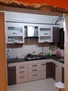 Interior Designer in Chandigarh Punjab Kitchen Modular, Modern Kitchen Cabinets, Kitchen Cabinet Design, Kitchen Layout, Kitchen Designs, Kitchen Furniture, Kitchen Decor, Drawing Room Interior Design, Apartment Interior Design
