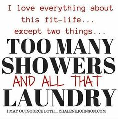 This is sooo true. 😂 #fitlife #toomuchlaundry #goals #lovinglifejourney
