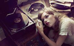 Fashion,Girl,Girls,Glamour,Lovely,Makeup,Music,Photography,Sad,