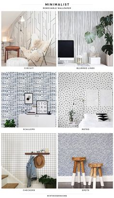 Modern farmhouse wallpaper try adding one of these with some natural elements around the space for a or modern farmhouse look modern farmhouse floral Modern Farmhouse Bathroom, Interior Design, House Interior, Home, Farmhouse Bedroom Decor, Modern House, Farmhouse Wallpaper, Modern Farmhouse Living Room, Home Decor