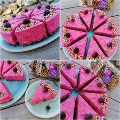 Sütés nélküli meggy mousse torta (gluténmentes, tojásmentes, hozzáadott cukortól mentes) – Éhezésmentes karcsúság Szafival Mousse