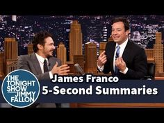 """It seems like Jimmy Fallon comes up a new game every year on his show that is easily adaptable to teaching English Language Learners in the classroom. You can see previous ones at I Learn Another Great Game For English Language Learners From Jimmy Fallon.  Last night, he played one called ""5 Second Summaries"" with actor James Franco. Each of them had five seconds to tell the plot of a movie in order to have the other guess the name of its name.""  via Larry Ferlazzo"