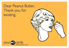 Best guilty pleasure? Peanut Butter! From the jar, with a big spoon.