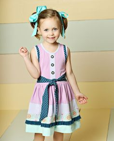 Matilda Jane Clothing ~ Good Hart ~   Pier Dress #matildajaneclothing #MJCdreamcloset