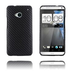 Carbon (Sort) HTC One Cover