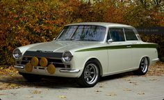 Lotus Cortina in the autumn sun