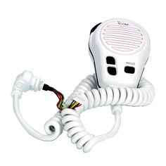 Icom Standard Hand Mic f/M304 & M412 - Super White - https://www.boatpartsforless.com/shop/icom-standard-hand-mic-fm304-m412-super-white/
