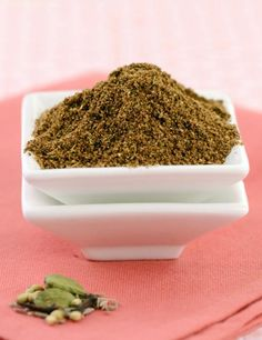 Baharat Powder, a popular Lebanese blend of spices used to flavour soups and other Lebanese dishes.