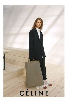 Preview Giedre Dukauskaite for Céline FW 17.18 Campaign