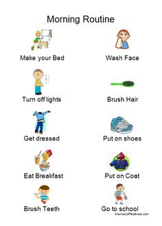 Tips to treasure Morning Routine Kids, Dress Hairstyles, When You Can, Eat Breakfast, How To Make Bed, Coffee Break, Face Wash, Continue Reading, Printables