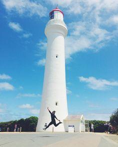 #greatoceanroad #torquay  #australia #melbourne #victoria #roadtrip #clouds #splitpointlighthouse #lighthouse by faranurdiana http://ift.tt/1PI0pio