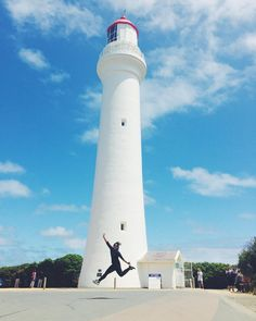#greatoceanroad #torquay  #australia #melbourne #victoria #roadtrip #clouds #splitpointlighthouse #lighthouse by faranurdiana http://ift.tt/1PI0pio