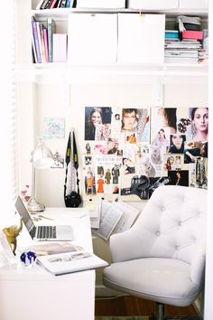 Anat home office: http://www.stylemepretty.com/living/2017/01/13/step-inside-a-jewelry-designers-chic-san-francisco-pied-e-terre/ Photography: Andrea Posadas - http://www.andreaposadas.com/