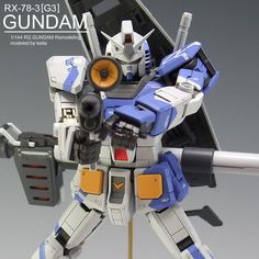 RG GUNDAM RX-78-3[G3]AmuroRay Customaize