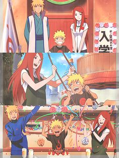 Naruto's family... Wow, I think I've just caught an extreme case of feels.