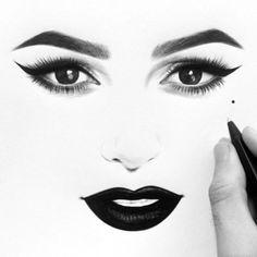 Mina @minaalsheikhly  Ink on paper