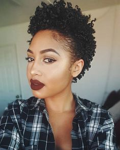 Cute designs on curly hair, ponytail styles, with weave, with braids on African . Cute designs on Curly Hair Cuts, Short Hair Cuts, Curly Hair Styles, Natural Hair Styles, Thin Hair, Curly Short, Curly Wigs, Curly Bob, Pelo Natural